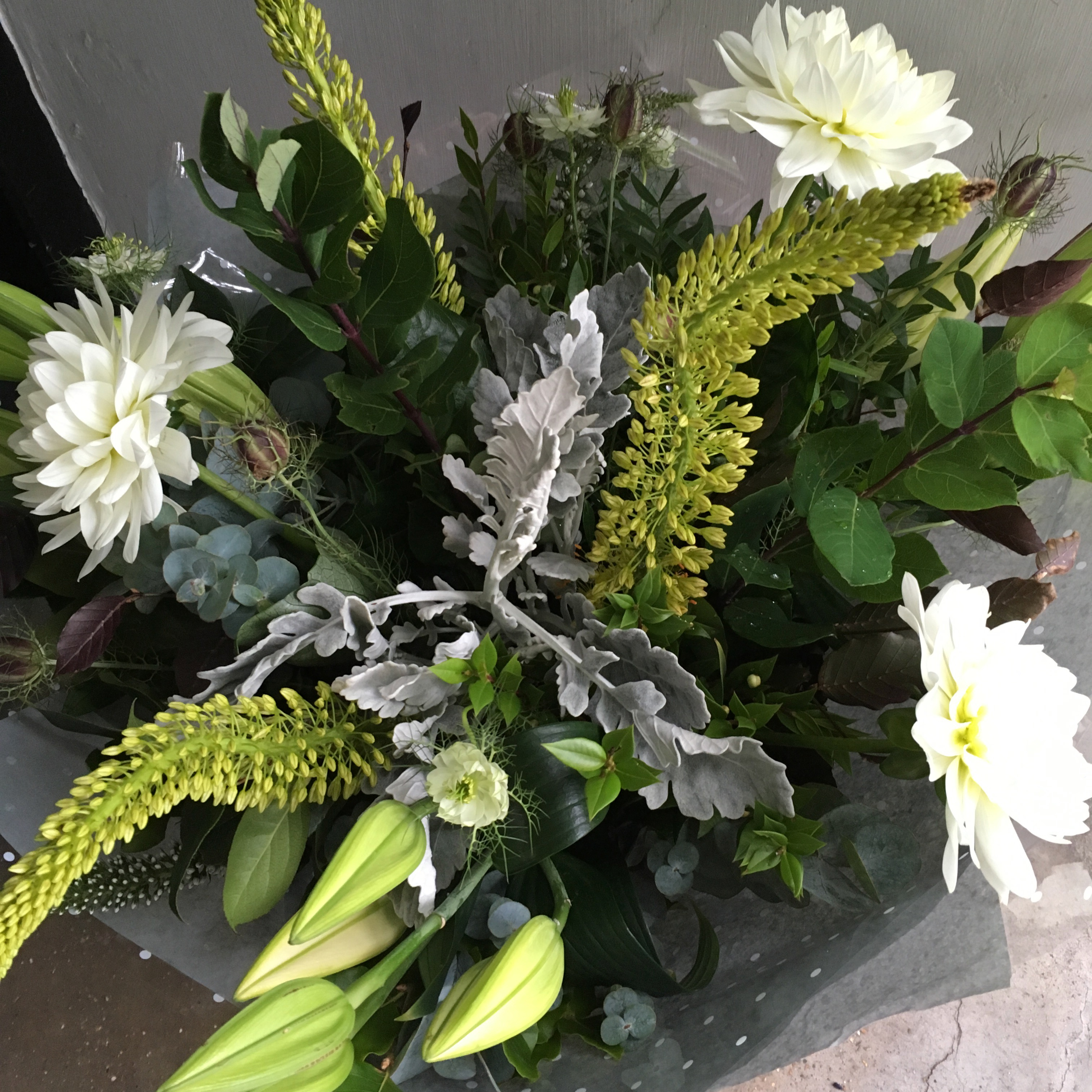 Foliage maketh the bouquet.