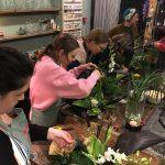 Ikebana fun times.
