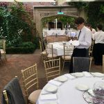 Kensington rooftop gardens wedding.