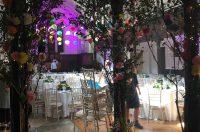 Kensington rooftop gardens wedding.