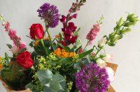 The flower arranger's prayer.