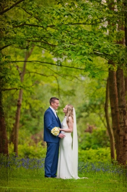 April wedding.